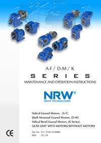 Инструкция для редукторов серии AF-DM-K_NRW